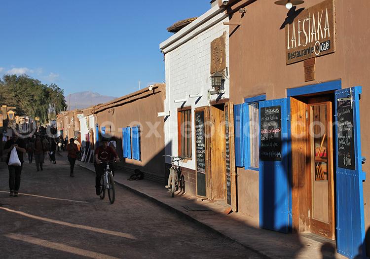 Rues de San Pedro de Atacama, Chili