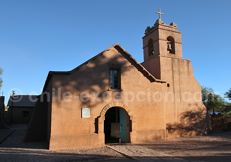Église de San Pedro de Atacama, Chili