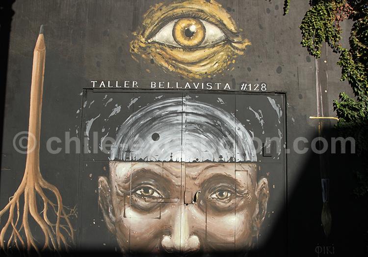 Art mural d'un atelier de Bellavista
