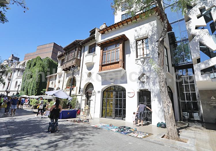 Quartier Lastarria, Chile