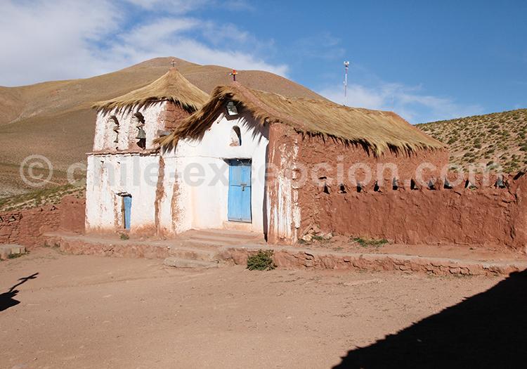 Village pré-hispanique, désert d'Atacama