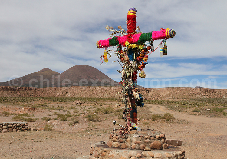 Peuple de l'Altiplano, Caspana, Chili