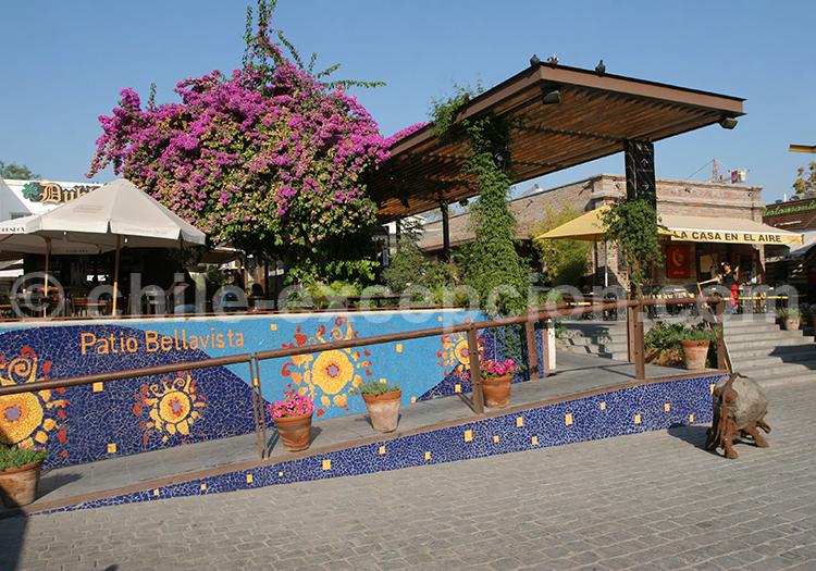 Patio de Bellavista, Santiago de Chile
