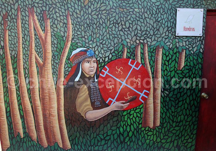 Art mural mapuche, Santiago