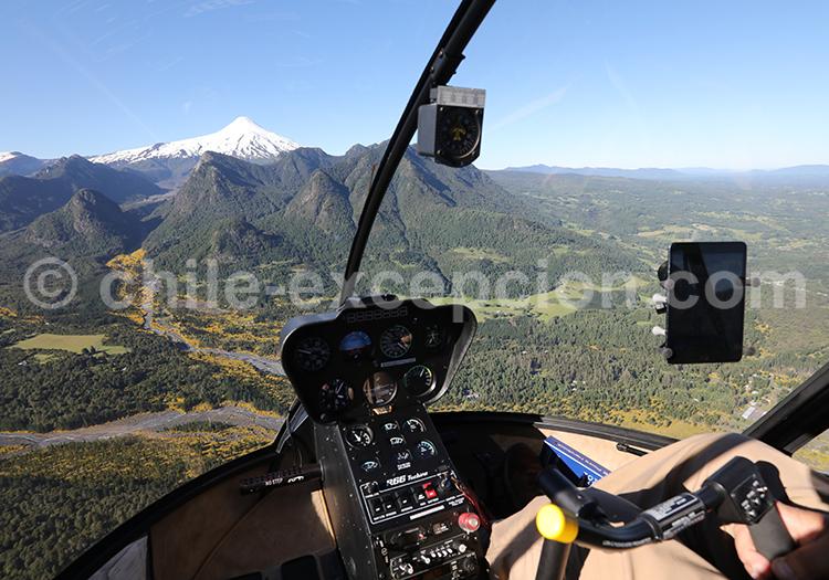 Survol en hélicoptère, Vira Vira
