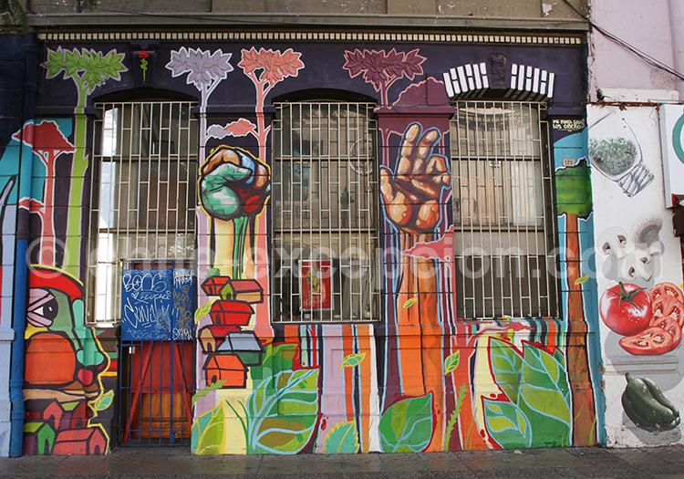 Styles d'art urbain, Santiago