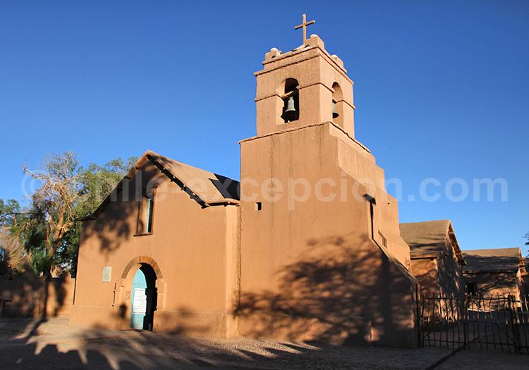 Église du village de San Pedro de Atacama, Chili