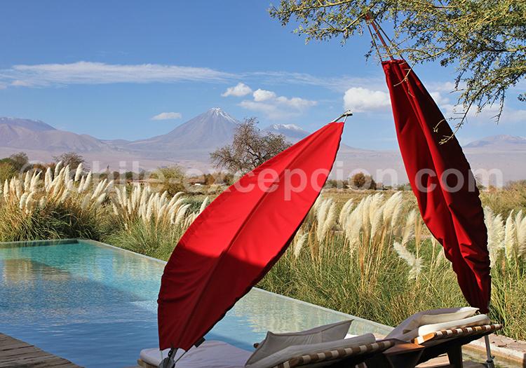 Séjour de luxe, San Pedro de Atacama, Chili