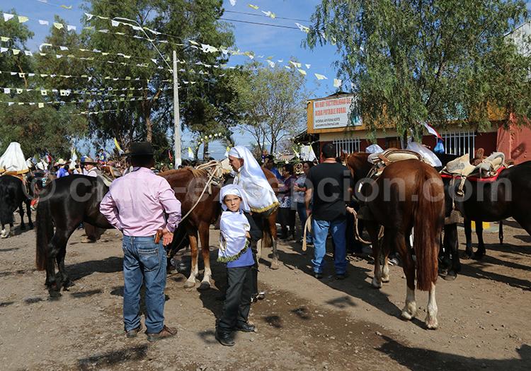Célébration catholique chilienne, région centrale