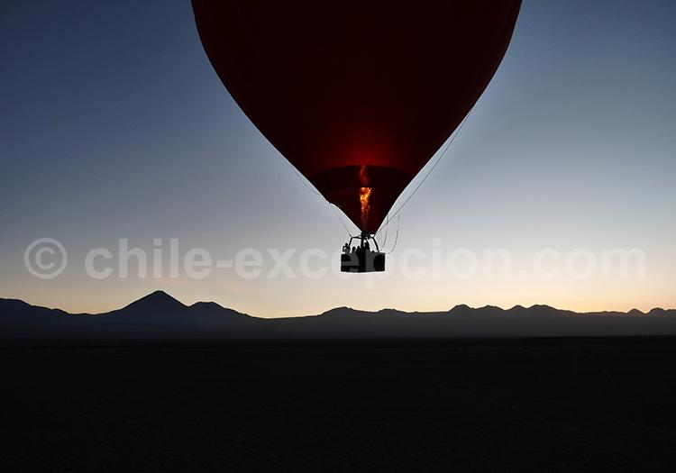 San Pedro de Atacama en montgolfière