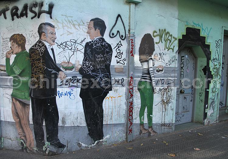 Peinture au coin de rue, Barrio bellavista