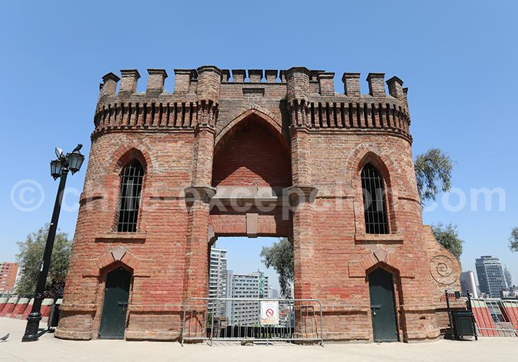 Castillo Hidalgo Marcó del pont Cerro Santa Lucia
