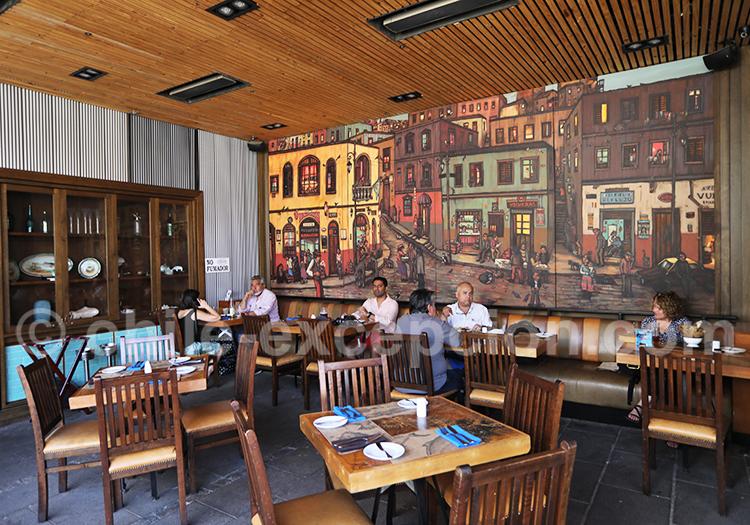 Les meilleurs restaurants du Patio Bellavista, Santiago de Chile