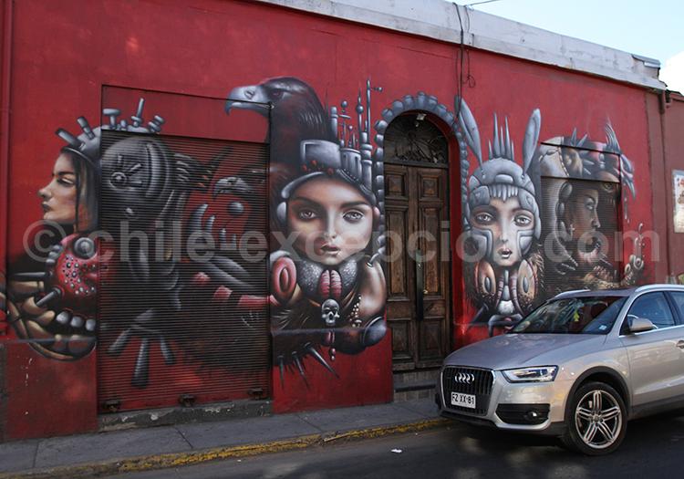 Art 3D, quartier de Bellavista