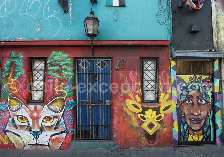 Galerie d'art des rues de Bellavista