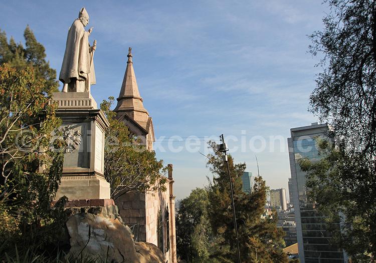 Cerro Santa Lucia, centre de Santiago de Chile