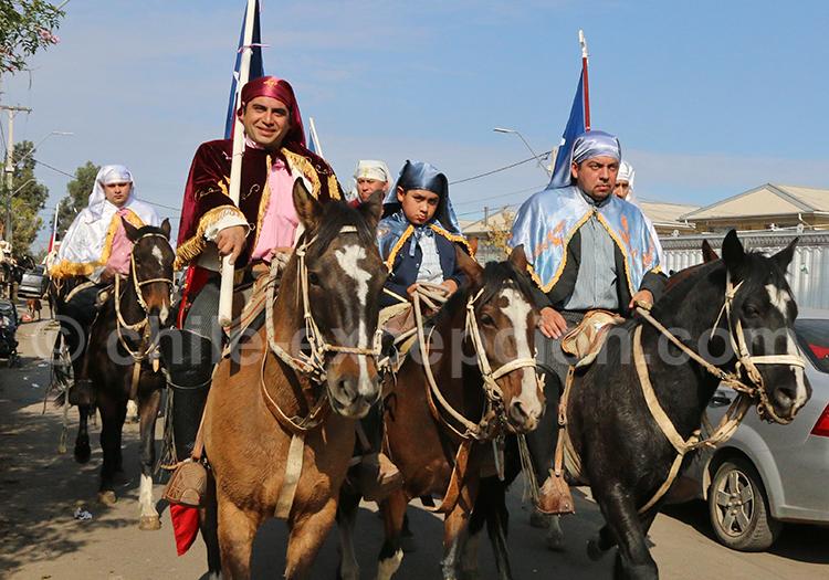 Fiesta de Cuasimodo, fête religieuse au Chili