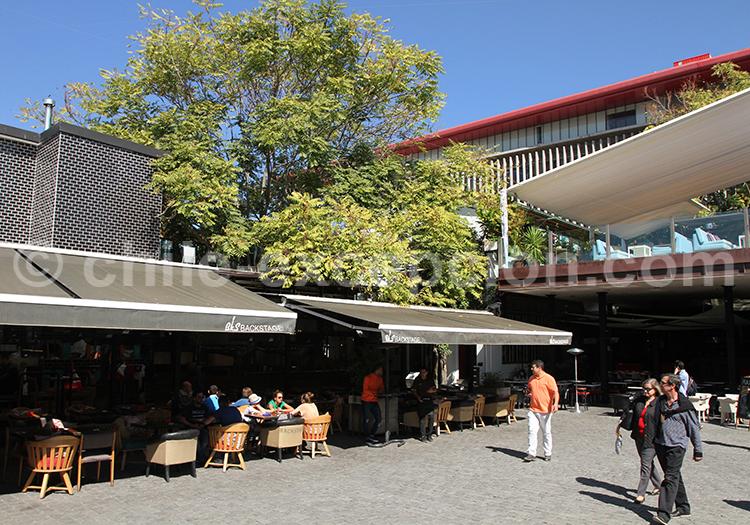 Où se restaurer à Santiago, Patio de Bellavista