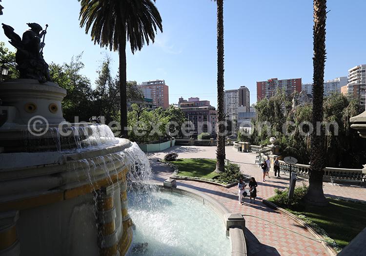 Journée à Santiago : Cerro Santa Lucia, la Moneda