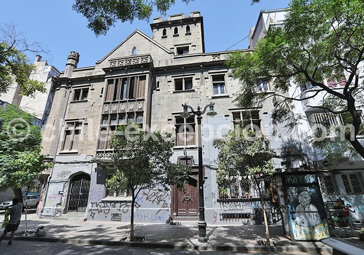 Connaître le quartier Lastarria, Santiago de Chile