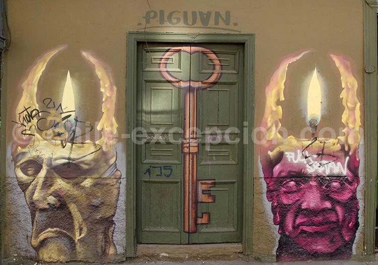 Art de rue par Piguan
