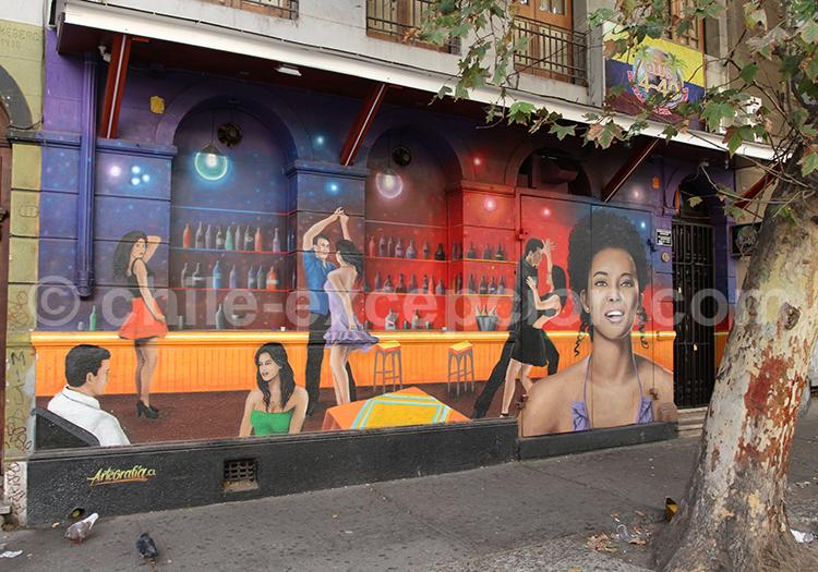 Fresque urbaine, Bellavista