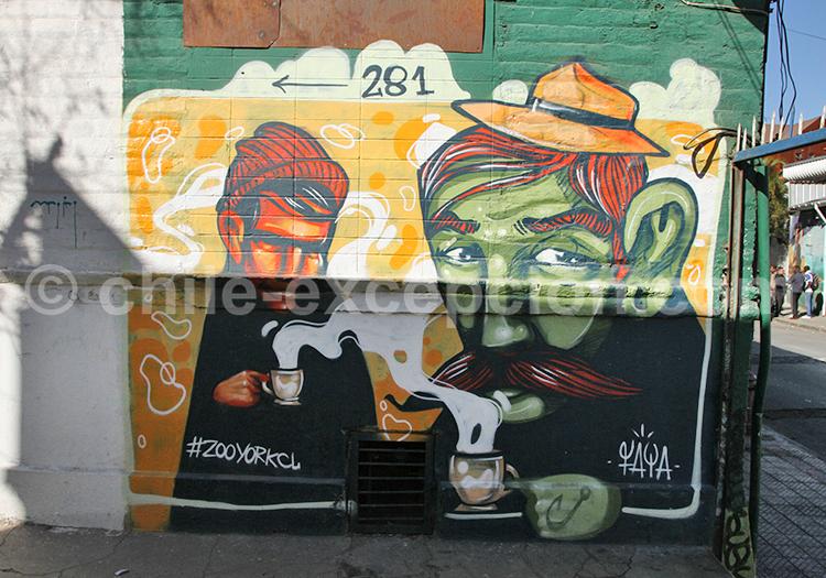 Apparition du Street Art à Bellavista