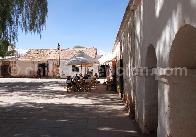 Rues du villages de San Pedro de Atacama, Chili