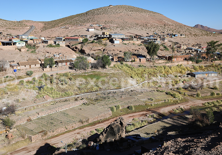 Village Aymara, Caspana, Chili