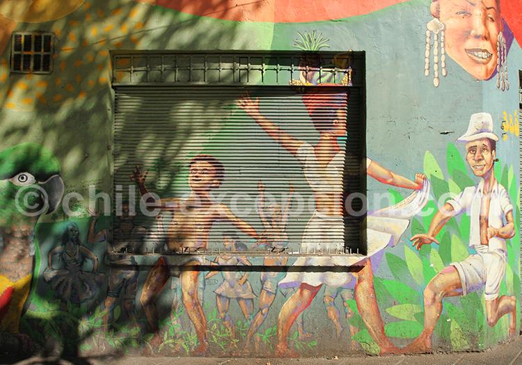 Culture et art de rue au Chili