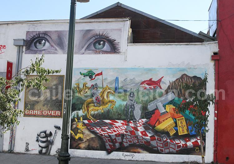 Fresque de rue Bellavista