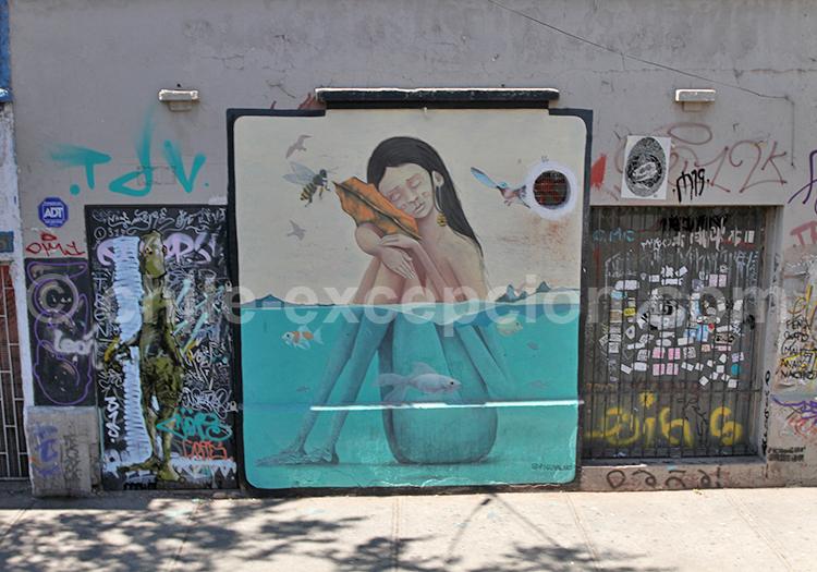Art public au Chili