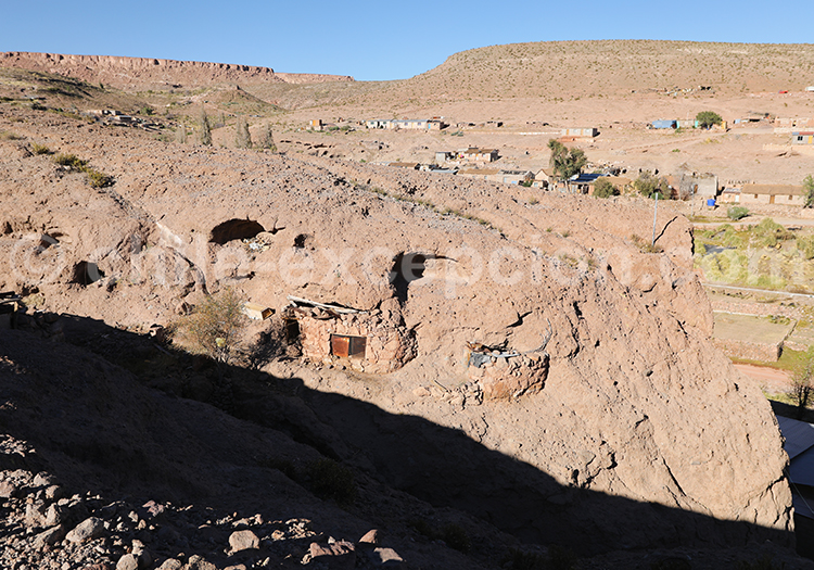 Archéologie à Caspana, Chili