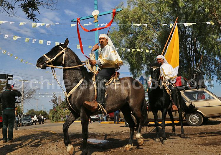 Procession eucharistique, Chili