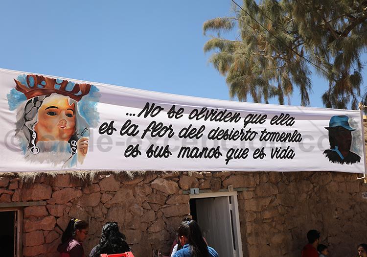 La religion catholique à Ayquina, Chili