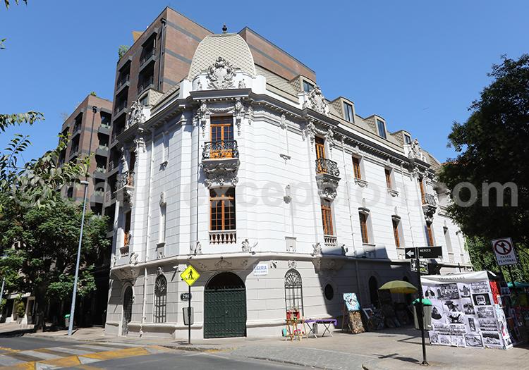 Visite de Lastarria, Santiago de Chile