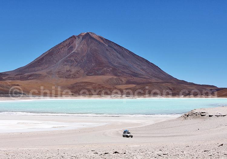 Volcan Licancabur, combiné Chili Bolivie