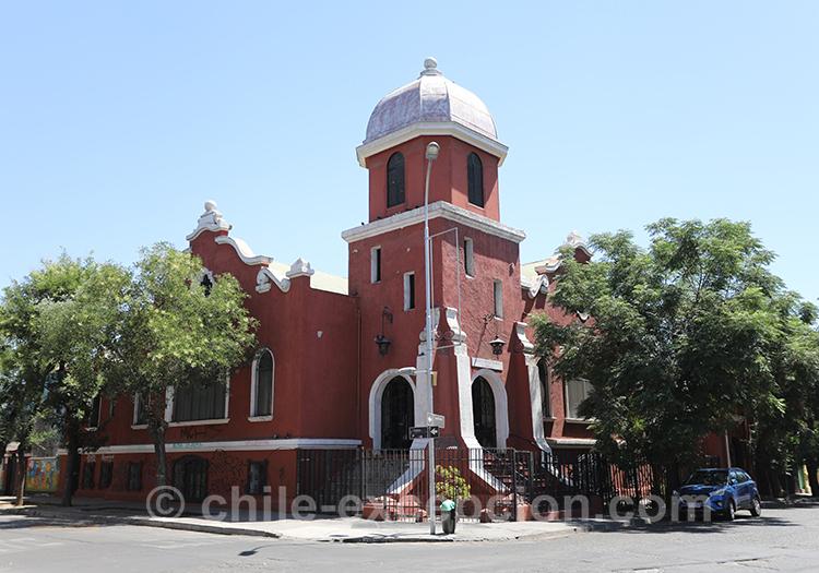 Première église Méthodiste de Santiago, Yungay