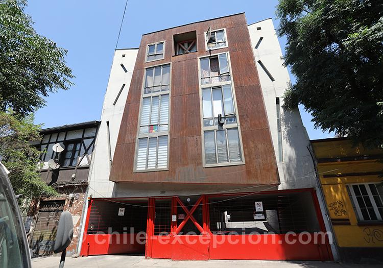 Quel quartier visiter à Santiago, le quartier Yungay