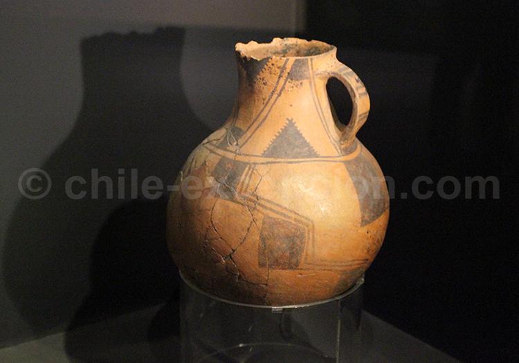 Poterie préhispannique, Musée d'Histoire Naturelle, Santiago de Chile