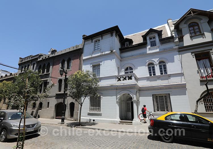 Quartier résidentiel de Santiago, Yungay, Chili