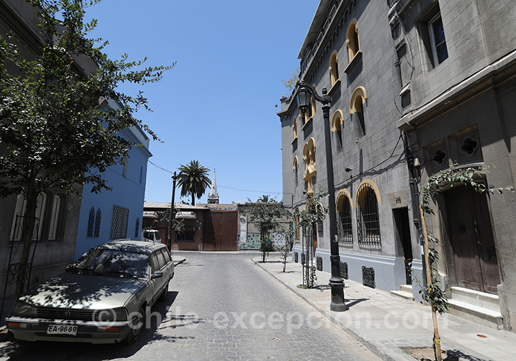 Où se loger dans le quartier Yungay, Santiago, Chili