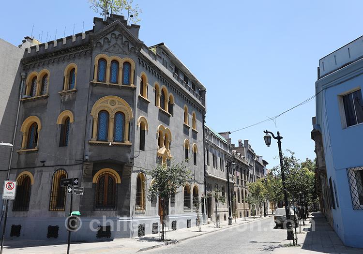 Quel réputation a le quartier de Yungay à Santiago Chili