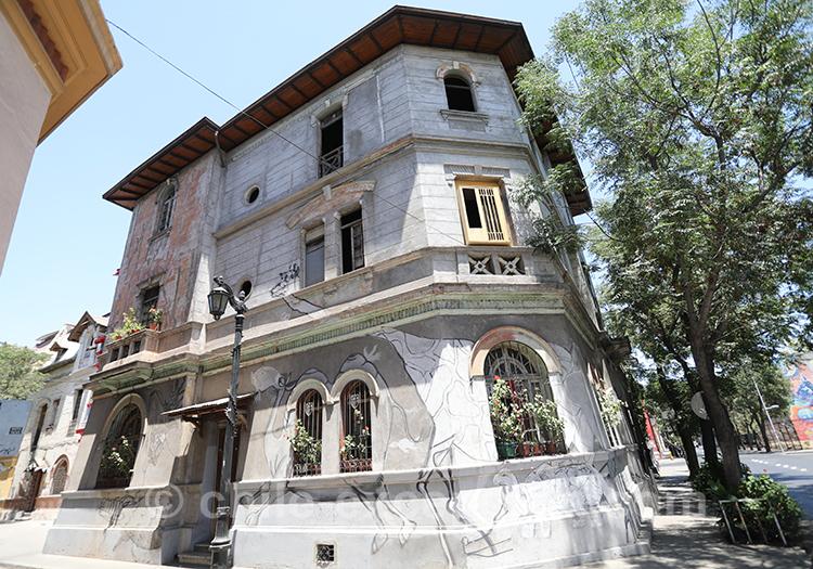 Découvrir le quartier de Yungay, Santiago de Chile