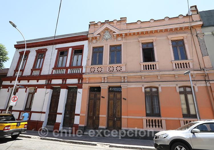 Partir arpenter les rues de Yungay, quartier de Santiago