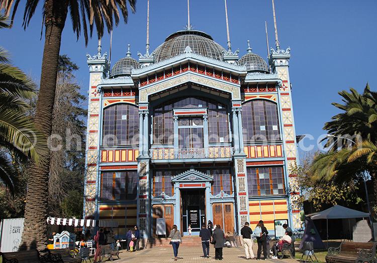 Musée Artequin, Parque Quinta Normal, Santiago du Chili