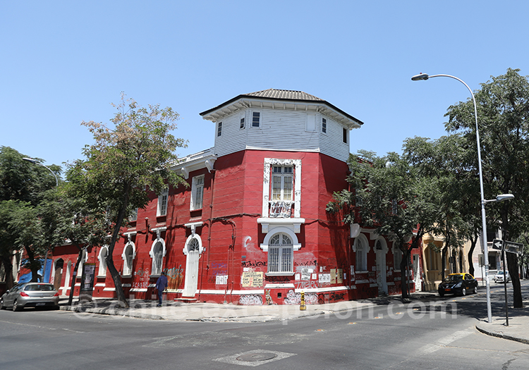 Où dormir dans le quartier Yungay, Santiago de Chile