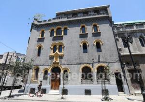 Architecture 1920 quartier Yungay de Santiago