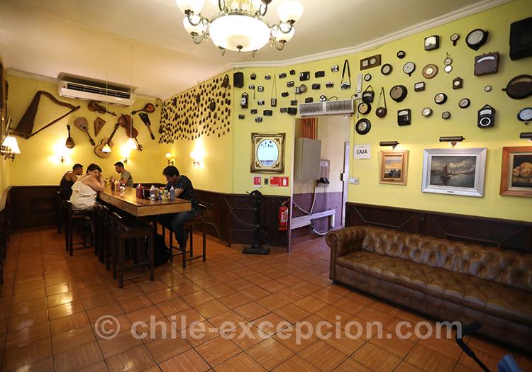 Où manger à Yungay, quartier de Santiago