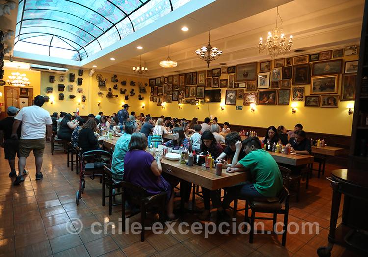 Où se restaurer au quartier Yungay, Santiago de Chile
